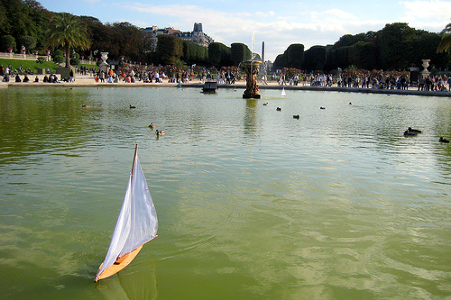Paris - Luxembourg Quarter: Jardin du Luxembourg - Grand Bassin