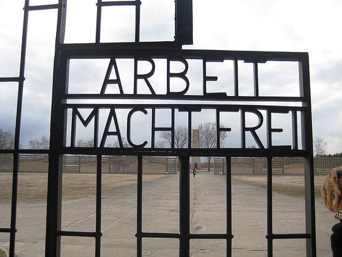 Arbeit Macht Frei, Sachenhausen
