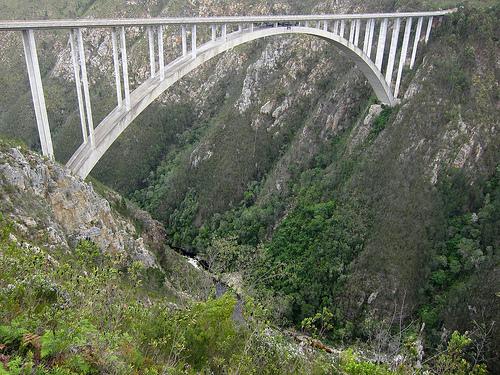 Bloukrans Bridge Bungee