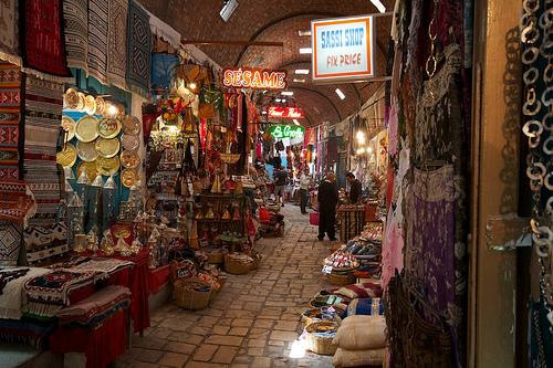 Souk de Sousse (Tunisie)