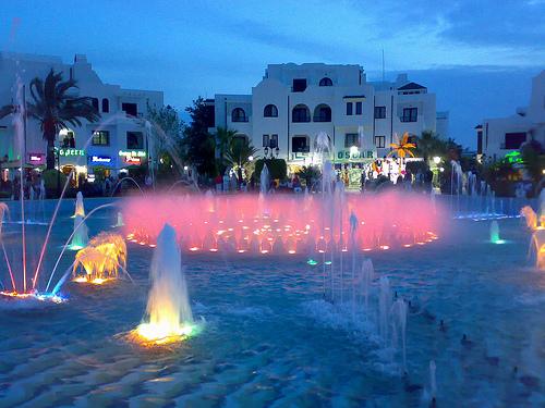 Kantaoui Fountain