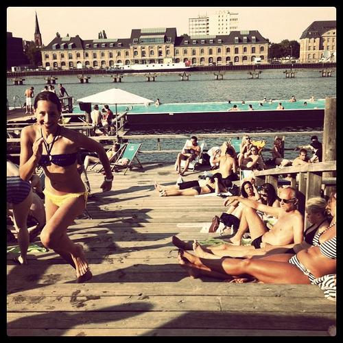 Summer @ badeshiff #berlin