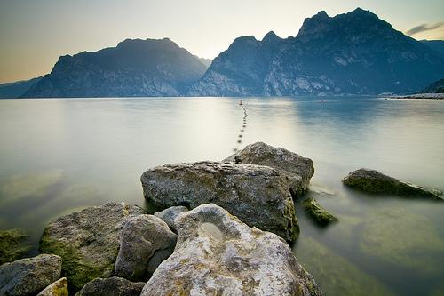 Torbole, Lago di Garda, Italia
